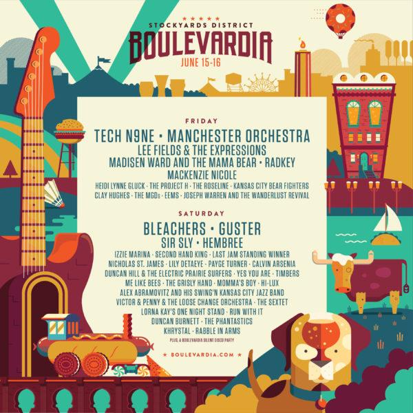 Boulevardia 2018 music lineup