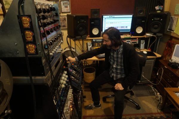 Joel Nanos at Element Recording | Photo: Michelle Bacon