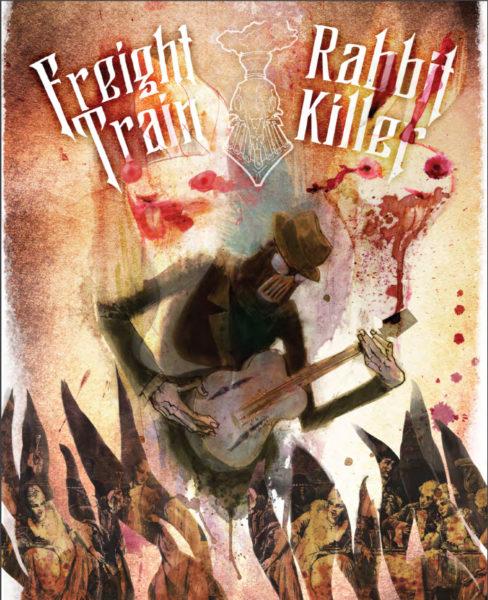 Freight Train Rabbit Killer comic   Cover art: Héctor Casanova