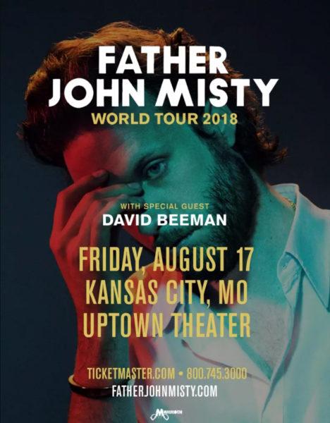 Father John Misty admat 2018 Uptown Theater