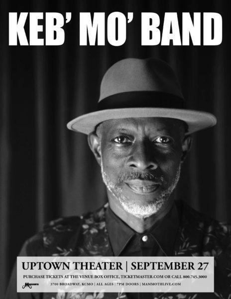 Keb Mo Uptown Theater 2018 admat