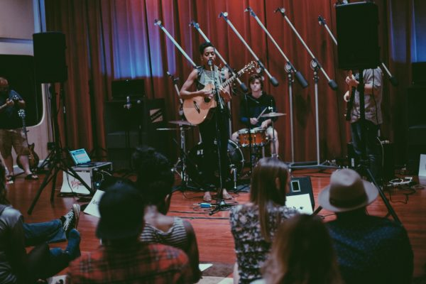 Payge Turner at Sofar Sounds KC | Photo: Anna Selle
